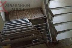 Лестницы на металлокаркасе в дом (2)