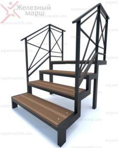 купить металлическую уличную лестницу