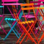 Мебель из металла окрашенная методом полимерно- порошковой покраски